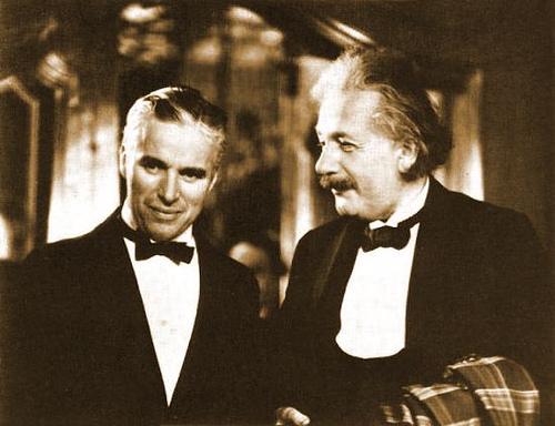 Chaplin einstein