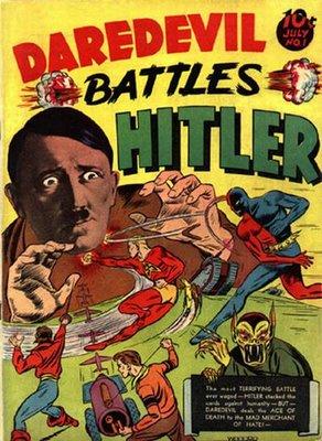 Comics daredevil hitler