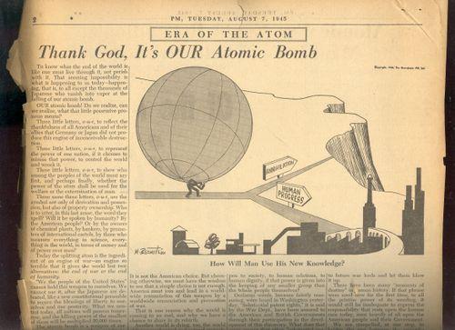==Blog July 26=PM cvr bomb artoon