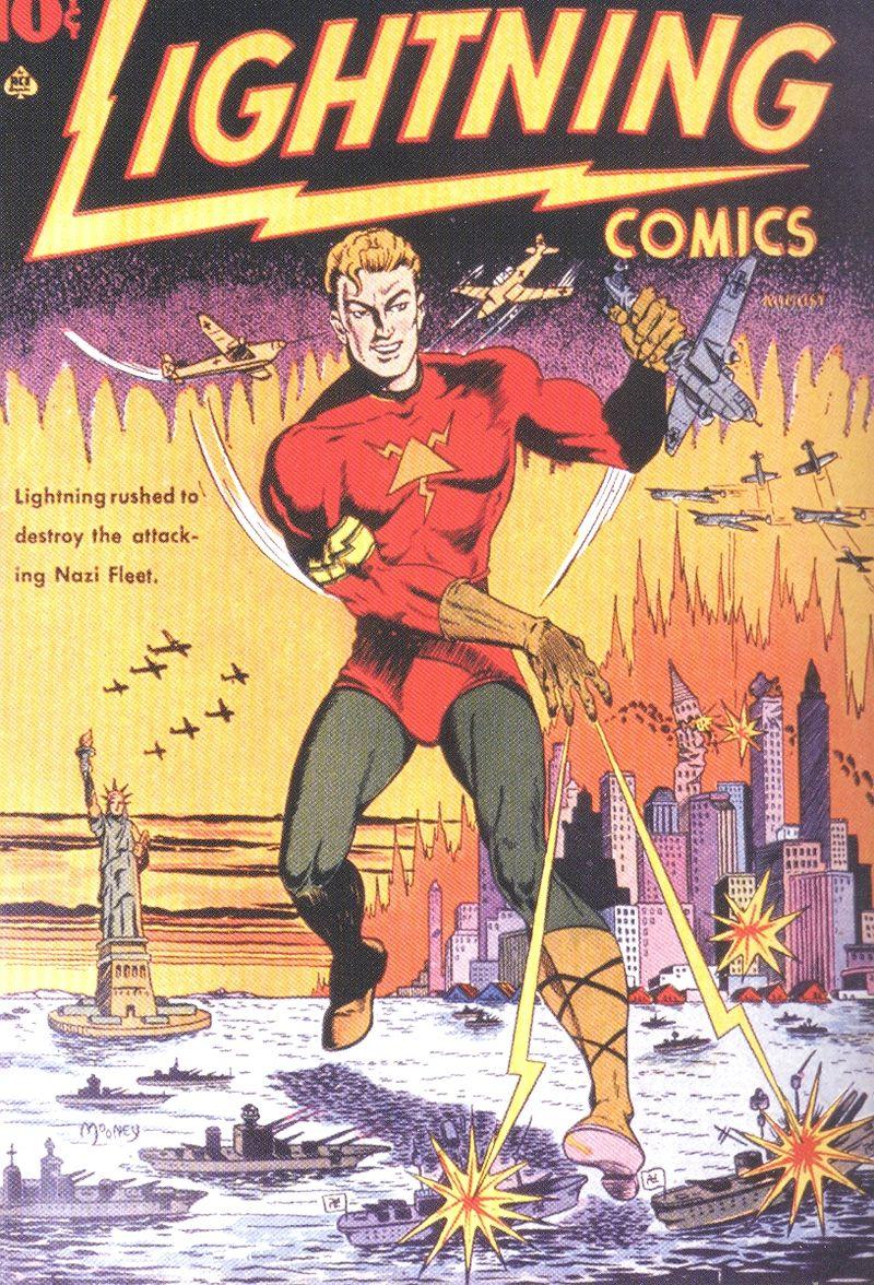 Comics lightning