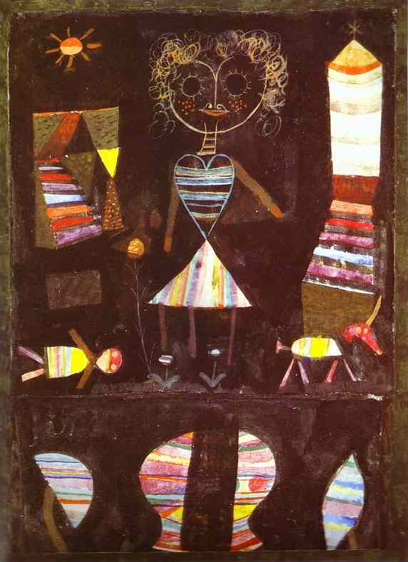 ===blog==aug 19==klee painting puppet 1923