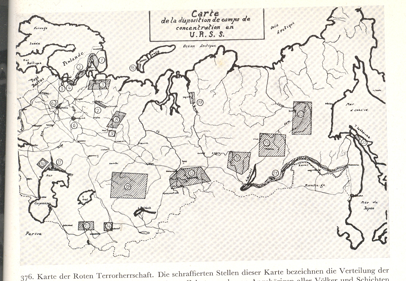 Picture of: Jf Ptak Science Books A Rare Map Of The Soviet Gulags 1936