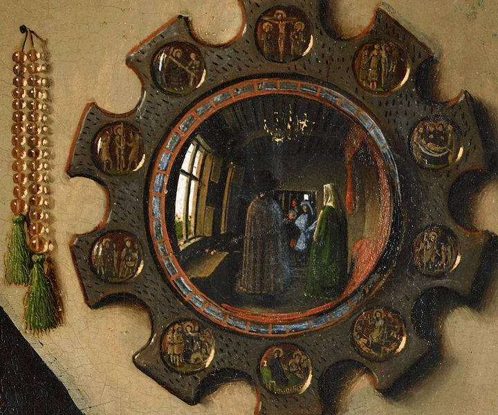 VanEyck_TheArnolfiniMarriage,detail