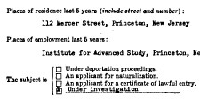 Einstein--FBI detail 21950