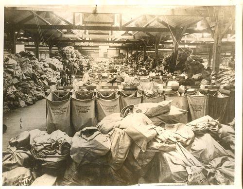 WWI photo Xmas mail