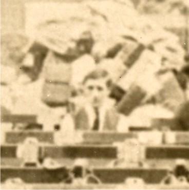 WWI photo Xmas mail detail
