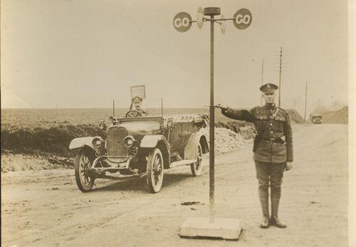 WWI photo traffic detail