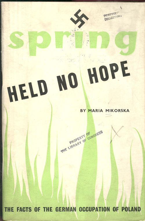 Blog jan 8 spring has no hope