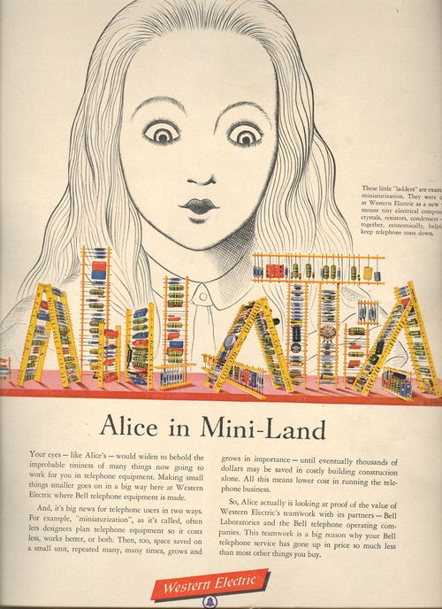 Alice in mini land