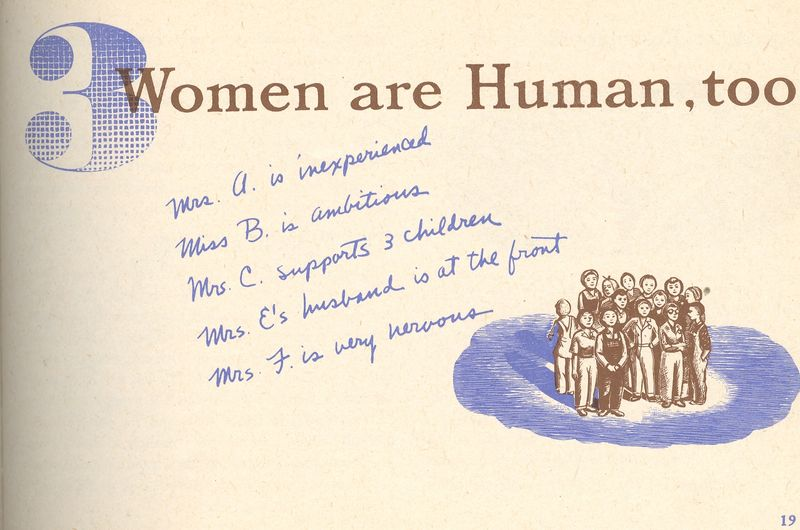 Mar 25 women human too