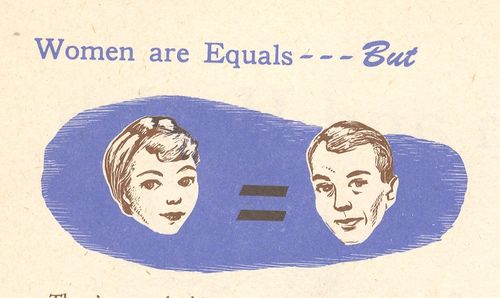 Mar 25 women equals but