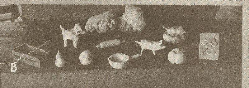 April 22 children art clay