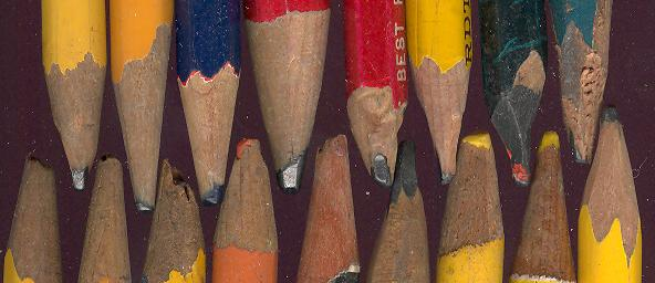 Patti--childhood Pencils points