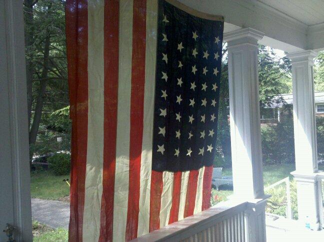 Flag 38 star