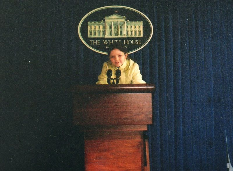 Emma at white house podium033