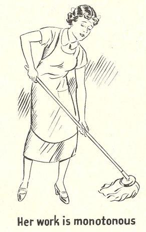 Women--her work