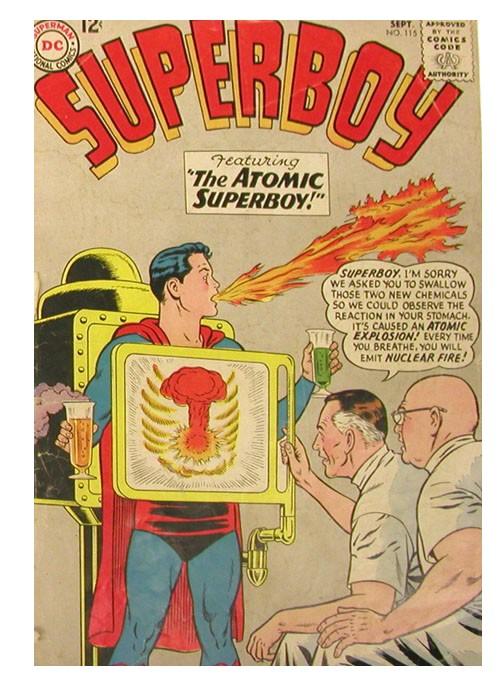 Atomic explos superboy