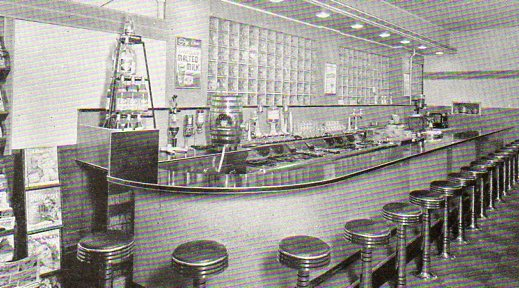 A soda fountain view 2488