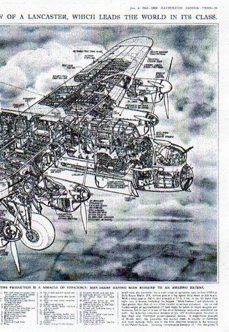 X-Sect  Brit bomber det b513