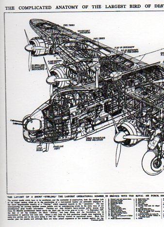 X-Sect  Big Brit Bomber det b517