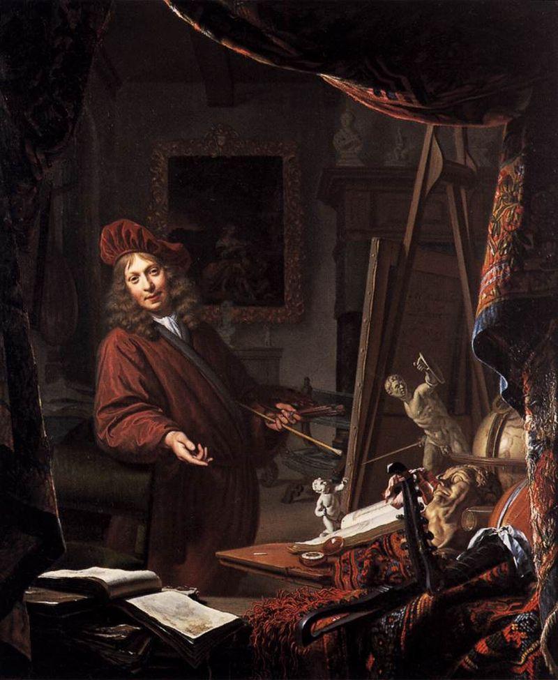 Studio--MUSSCHER, Michiel van