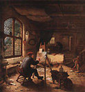 Studio.Adriaen van Ostade (Dutch, 1610-1685), The Artist's Workshop,