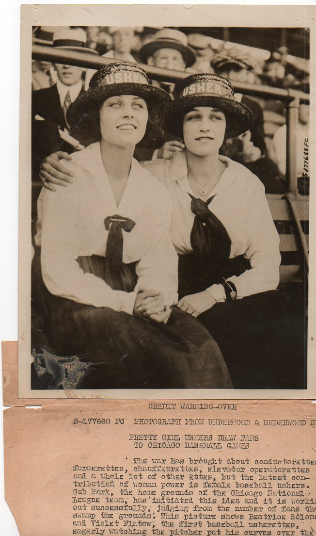 WWI--e--women ushers684