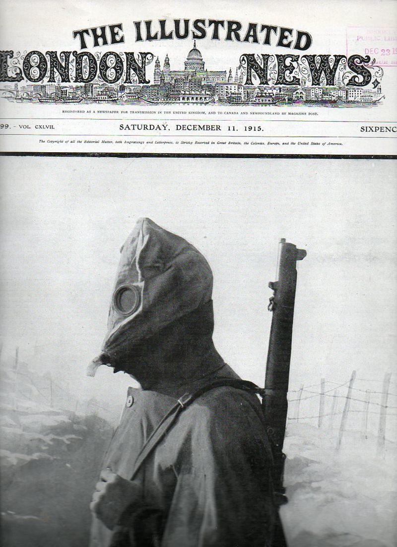 WWI--gas mask full pg696