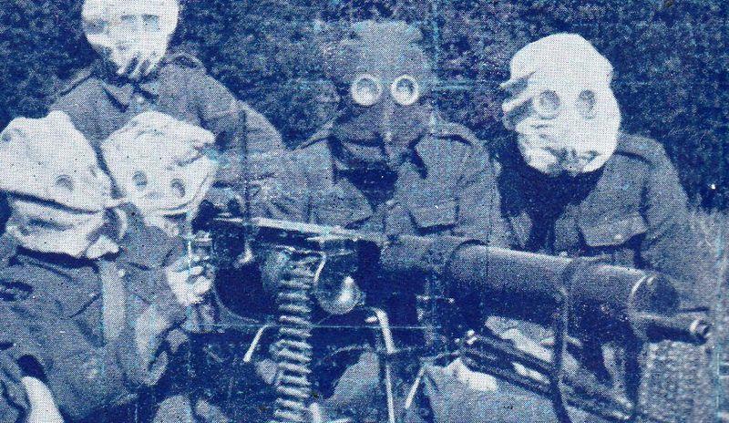 WWI--gas machine gunb712