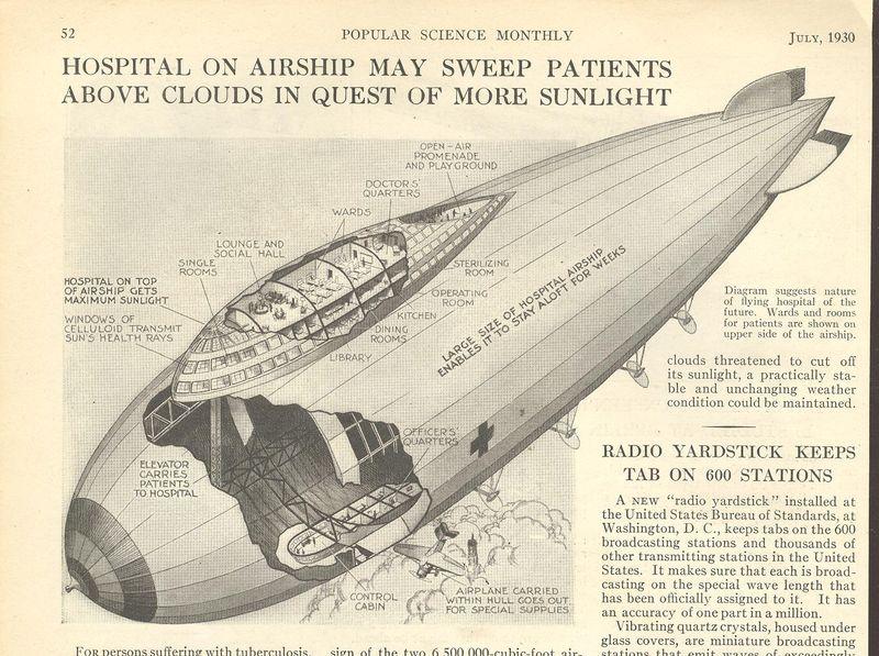 April 21 dirigible