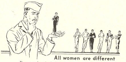 Women--all different