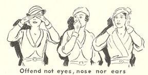 Women--offend not eyes