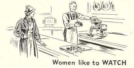 Women--like to watch
