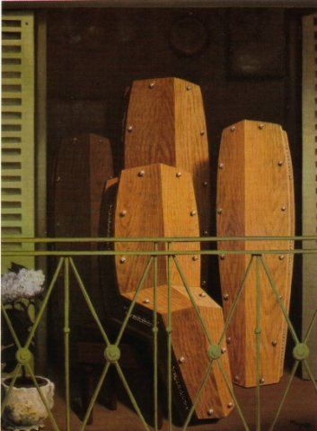 Magritte balcony