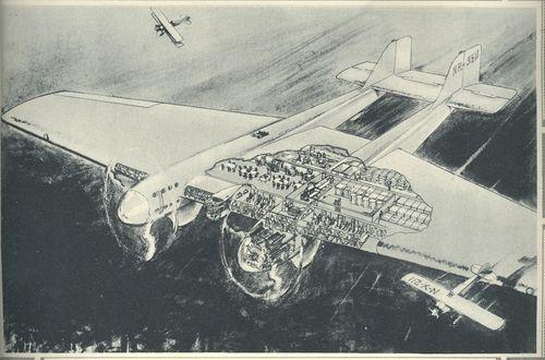 Monumentalism--airplane