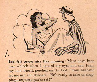 Women--growing overslept 2456