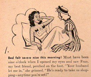 Women--growing overslept 2456