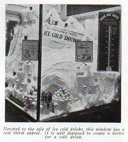 A soda fountain display a490