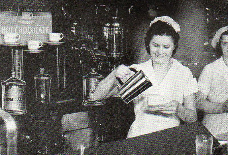 A soda fountain ladies495
