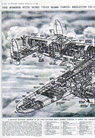 X-Sect  Brit bomber det a512