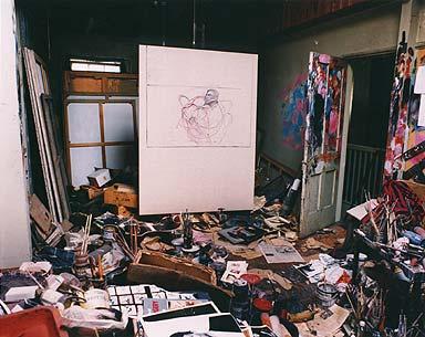 Studio--farancis bacon