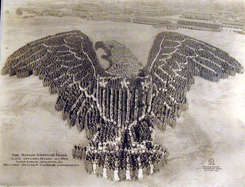 Arthur Mole-Thomas-1918-Human-American-Eagle-1