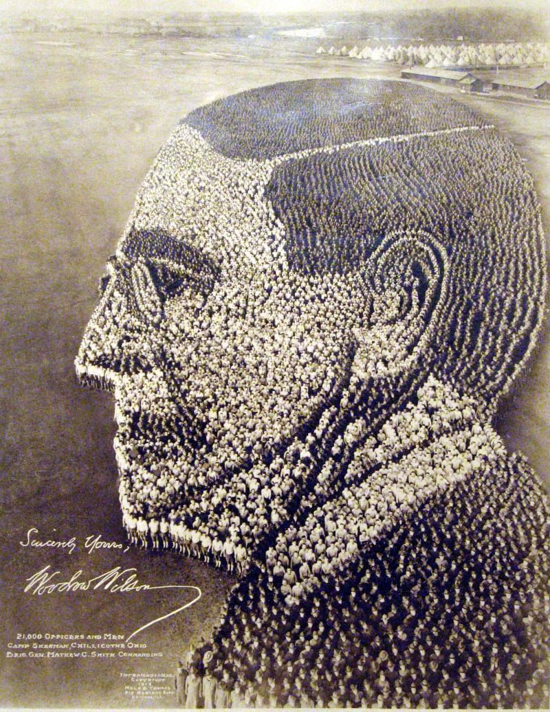 Arthur -Mole-Thomas-1918-Woodrow-Wilson-1