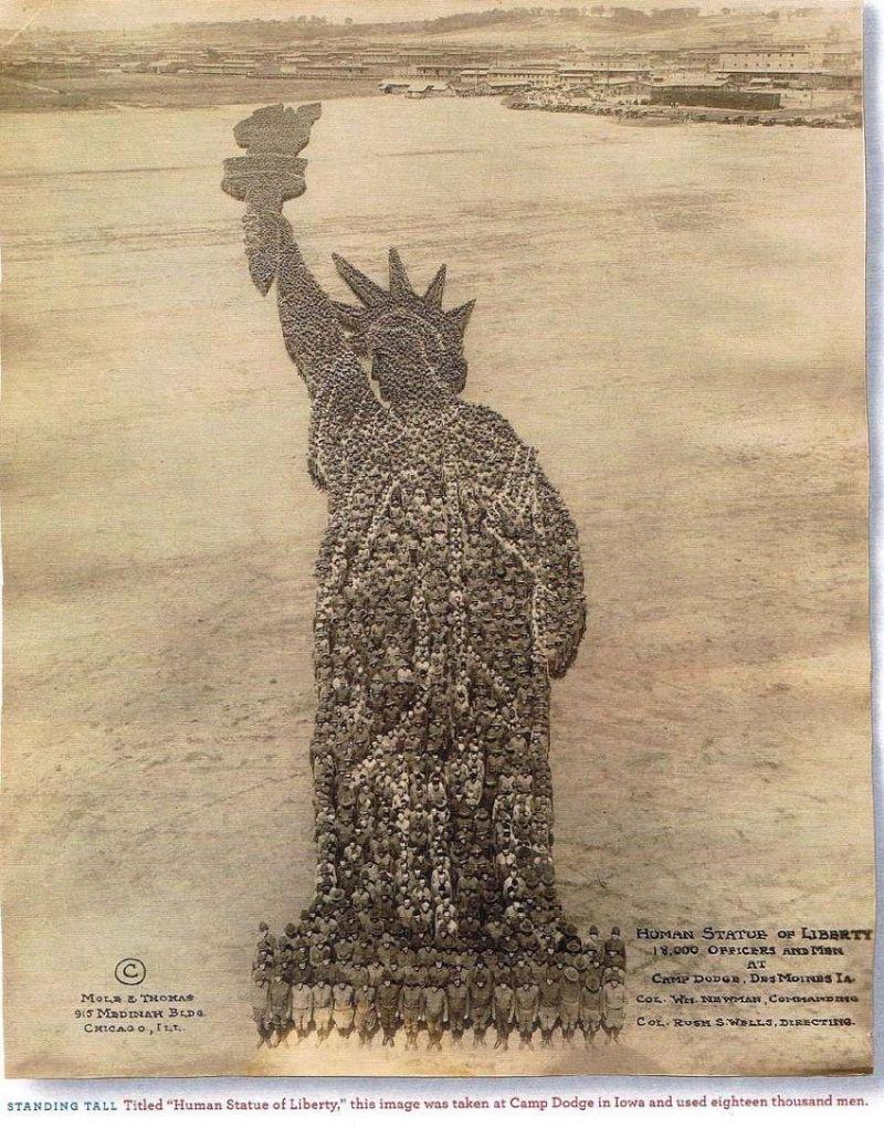 Arthur-s-mole-john-d-thomas-1918 statue liberty