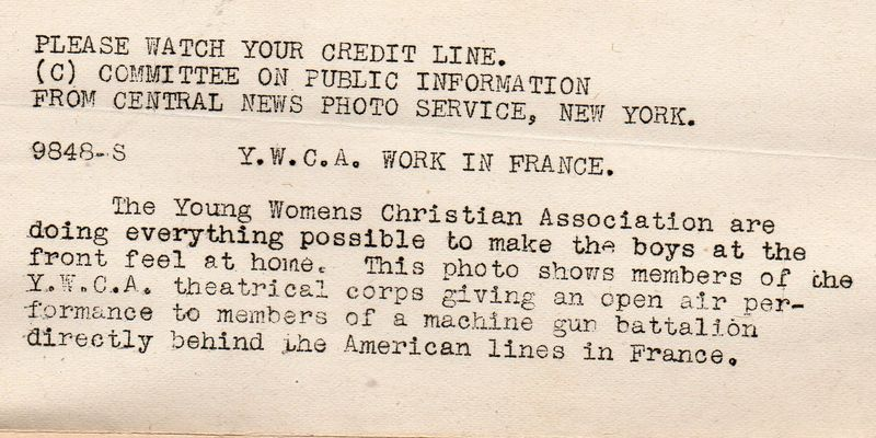 WWI--e--women ywca detb679