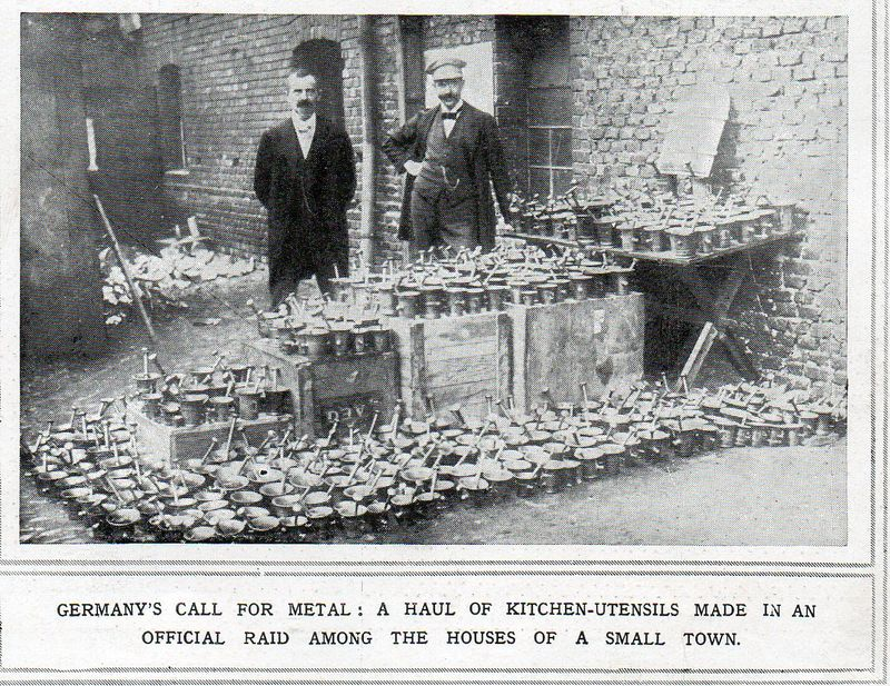 WWI--raid on pots and pans694