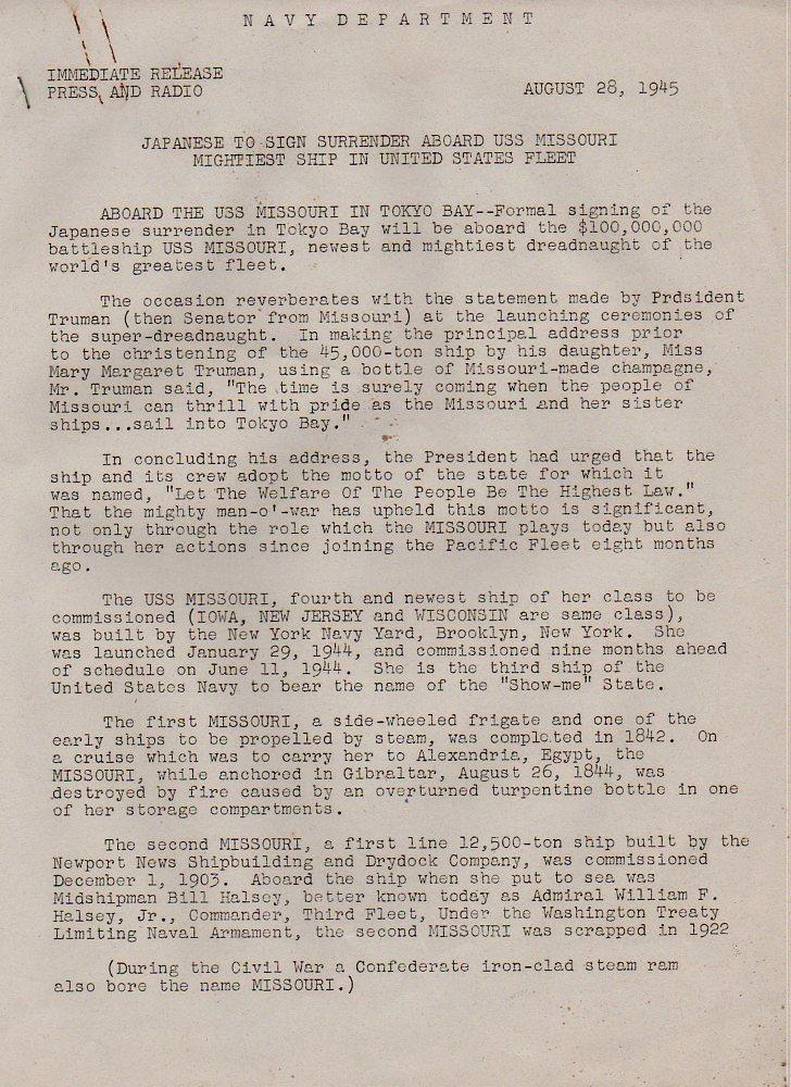 Japan surrender missouri959