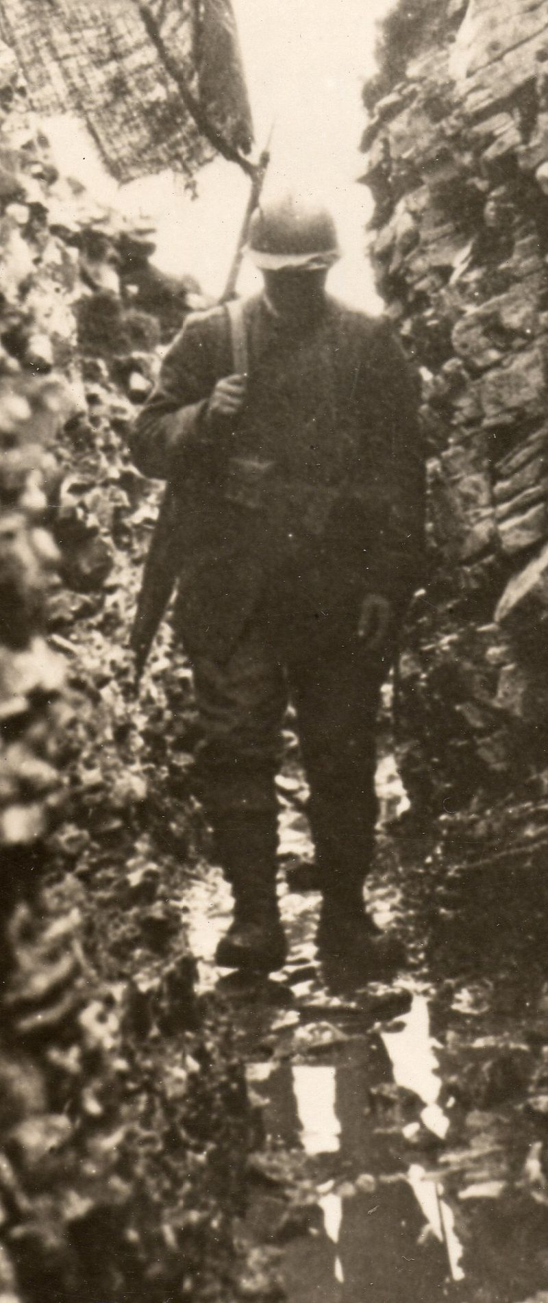 WWI photo--trench note detail047