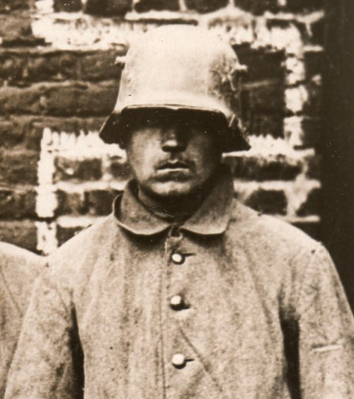 WWI photograph--german prisoners old068