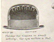 Steampunk 2 cigar holder095